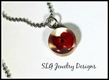 resin silver flower with border-3